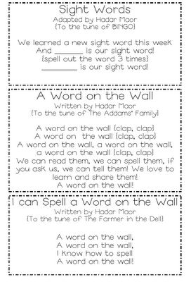 Tales from Outside the Classroom: Word Walls