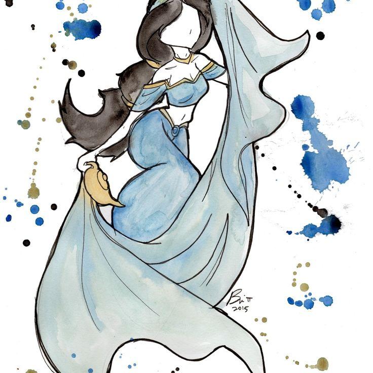 Jasmine | Bri Pi Art