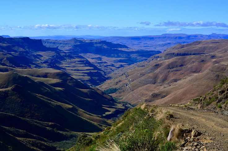 Visited Sani Pass at Drakensberg during our journey through South Africa whilst travelling the world. Absolutely one of the places to see before you die in Africa.