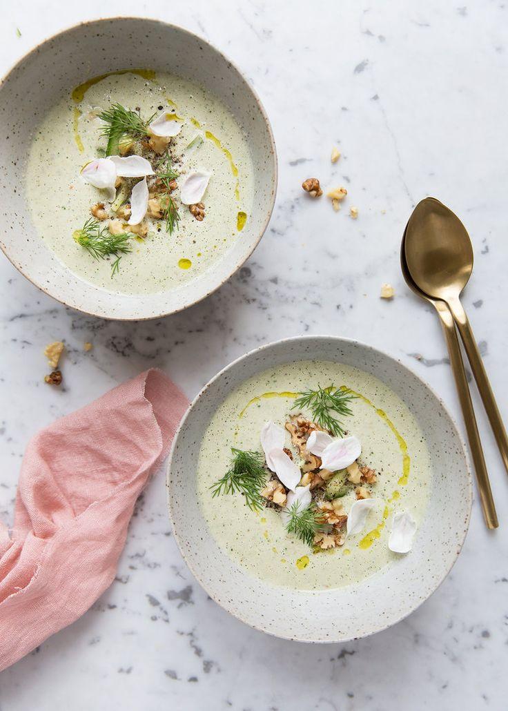 A Cold Cucumber Yoghurt Soup — Sonja Dahlgren