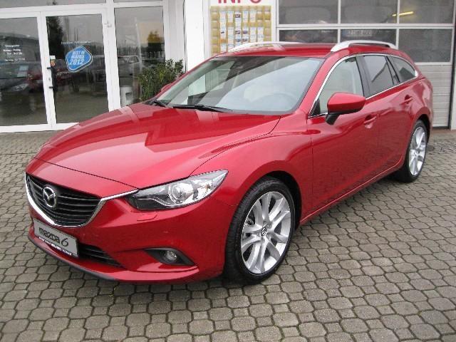Gebrauchtwagen: Mazda, 6, Kombi 2.0l Sports-Line+Leder+Navi '2013', Benzin, € 28.280,- AutoScout24 Detailansicht