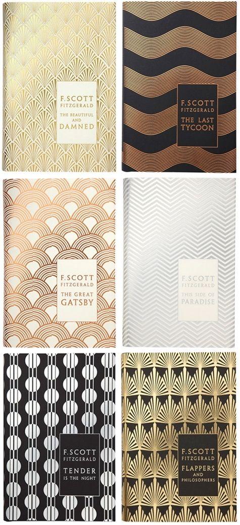 Wonderful art deco F. Scott Fitzgerald series, by Coralie Bickford-Smith
