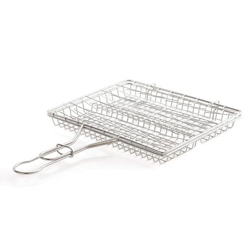 NEW TO the Pampered Chef outlet - BBQ Flexible Basket - was $33, now $9 while supplies last.   www.pamperedchef.biz/kris ; shop; outlet.  Easily grill fish, fresh brats and sausage, corn on the cob, vegetables, even ribs! Flexible side expands to hold thicker foods. Rigid side keeps food flush to grill grates for optimal browning. Ridge inside basket keeps food separate and minimizes sliding. Basket fits inside most grills, even with the lid closed. Handle has locking ring so you can easily…