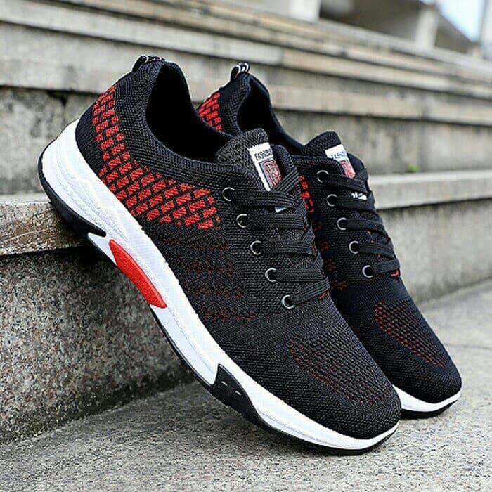 Sepatu Sneakers Pria Nidengbao Light Walking Footwear Man Sneakers