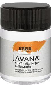 Javana Sunny textilfesték 50 ml fehér - OPITEC-Hobbyfix - kreatív hobby és művészellátás - Márkák szuper áron!