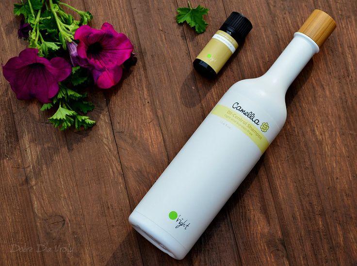 Naturalna pielęgnacja włosów z O'right - Camellia Oil-Control Shampoo Golden Rose Oil