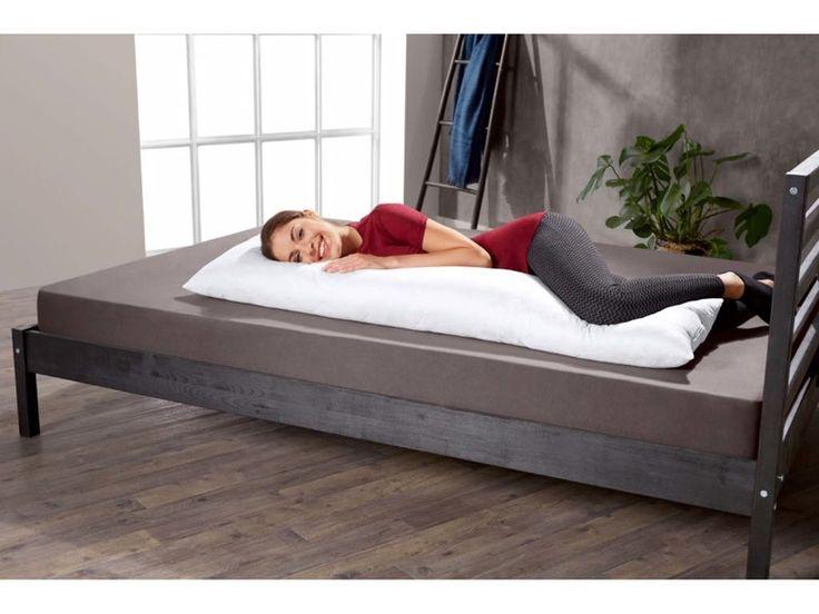 MERADISO® Traversin 40 x 145  Position pour dormir: Côté   Soutien: Fort  Garnissage: Synthétique   Anti-allergique: Oui
