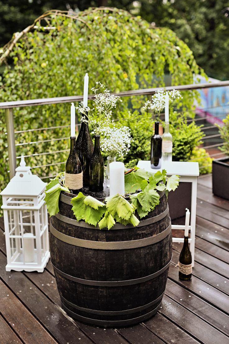 Svatební výzdoba hostiny pro Katku a Miloše, příprava a výzdoba obřadu, svatební květiny a koordinace svatby / Od Million Bells