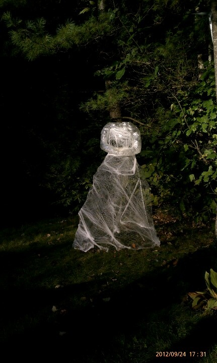 Ideas about chicken wire ghosts on pinterest