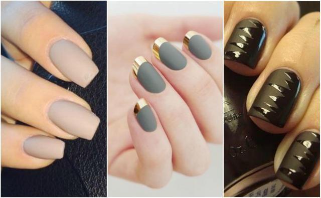 Wyjątkowy manicure: 14 pomysłów na czarujące paznokcie matowe
