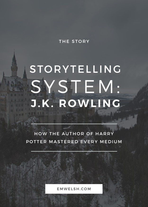 How J.K. Rowling mastered every storytelling medium
