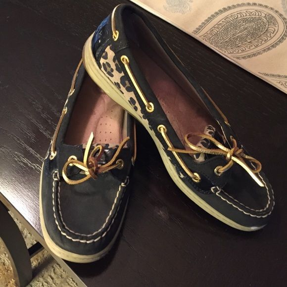 Sperry Top-Sider Worn a handful of times. Awesome shape!  Including coupons with purchase for more fun shoes!!!   Sperry Top-Sider Shoes Flats & Loafers