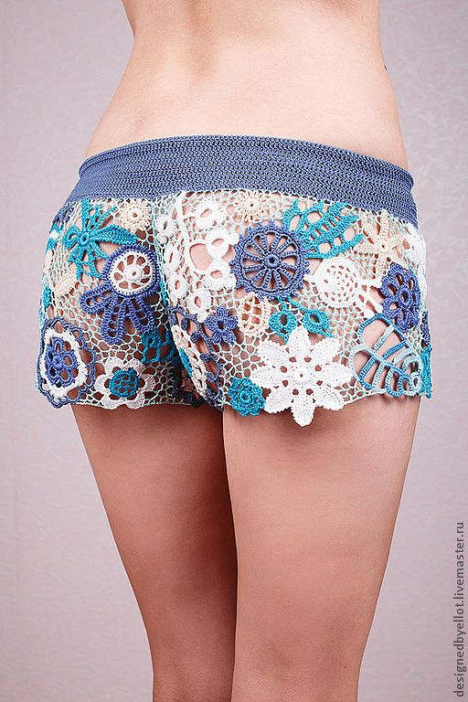 #crochet #irishlace #shorts