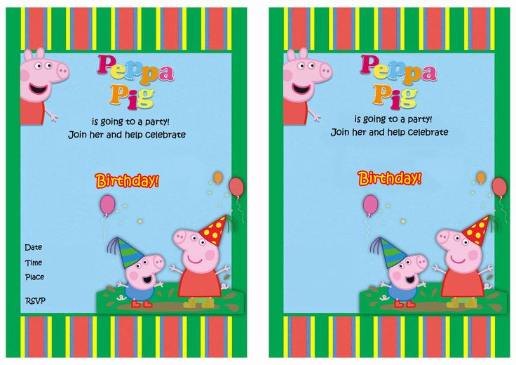 17 Best images about Peppa Pig Printables on Pinterest   Peppa pig ...