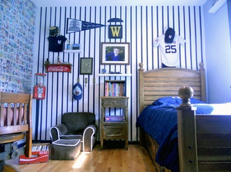 Baseball Room For Luke Obviously We Wont Be Doing A Yankee Theme But You Get