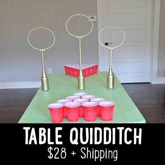 As Seen on BUZZFEEDHarry Potter Table Quidditch Game by FarmtoFete