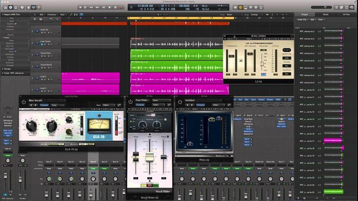 compressing dynamic vocals waves logic pro x serial compression recording mixing logic. Black Bedroom Furniture Sets. Home Design Ideas