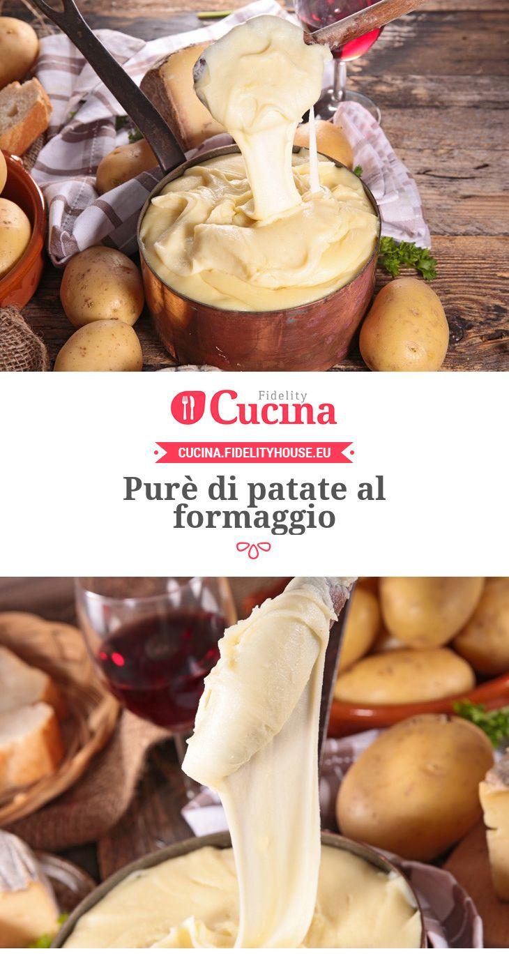 #Purè di #patate al #formaggio