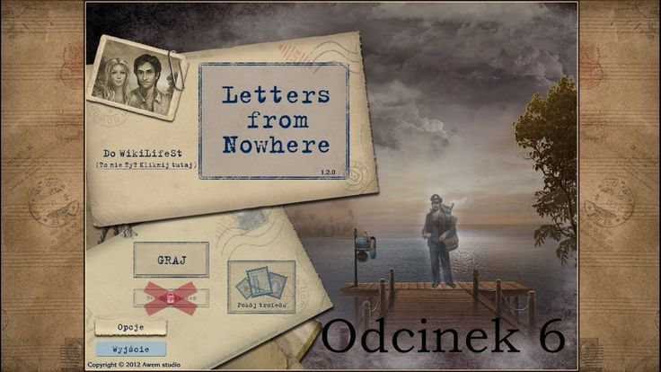 Let's Play: Letters from Nowhere- odcinek 6- Cienie w nocy