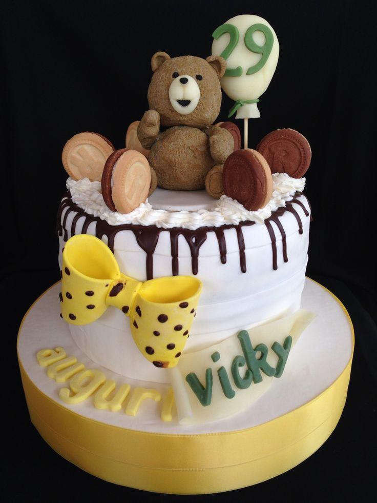 "Birthday cake ""TED"""