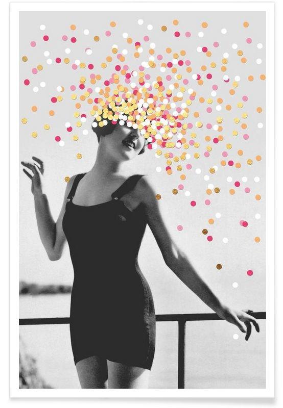 Inspire als Premium Poster von typealive | JUNIQE