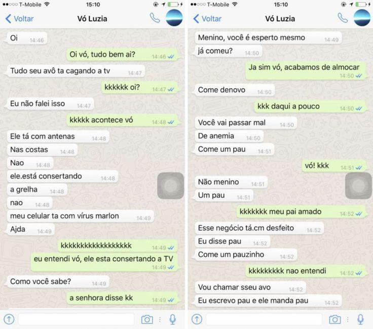 Conversa de avó no Whatsapp viraliza e a internet ganha uma nova musa