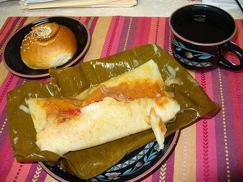 Guatemalan tamales yum