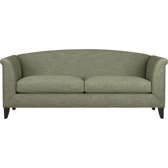 Silhouette Sofa in Sofas | Crate and Barrel