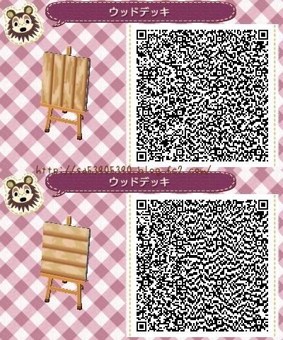 Animal crossing new leaf qr code paths pattern acnl for Meubles japonais acnl