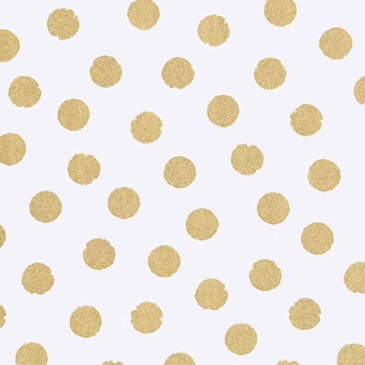 Die besten 25 goldene punkte wand ideen auf pinterest for Goldene wand tapete