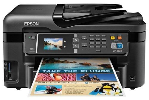Brand New Wireless WiFi Direct All-in-One Color Inkjet Printer, Copier, Scanner #Epson
