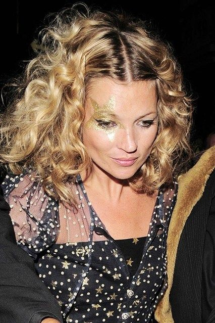 Kate moss with gold star