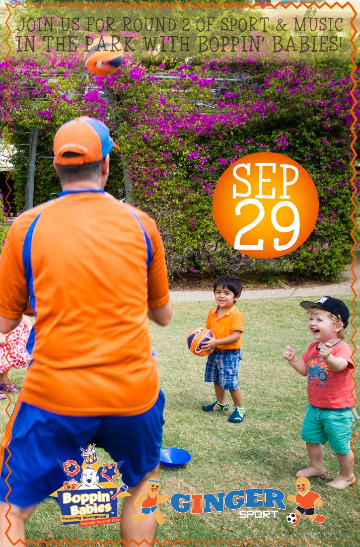 Join us Thursday 29/9 from 3:00-4:30pm at Hidden World Playground, Fitzgibbon for free sport & music!
