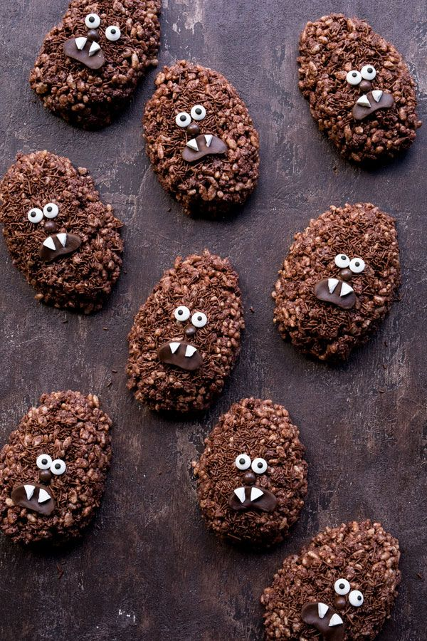 """Chewbacca """"Chewie"""" Chocolate Crackles. Laugh it up fuzzball! For the recipe, visit www.dollarsweets.com"""
