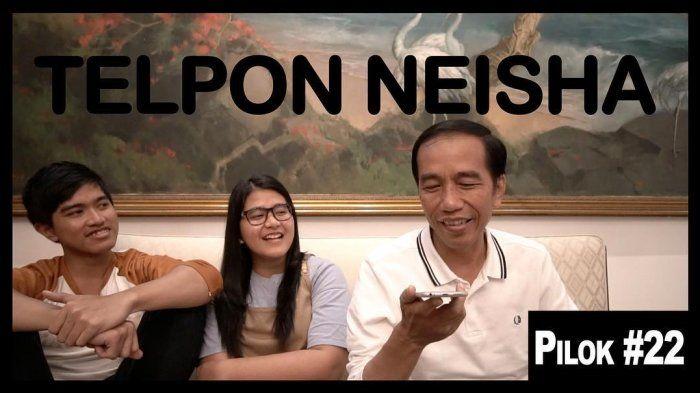 Neisha, Gadis Kecil yang Tangisannya Viral di Facebook Dapat Kejutan dari Idolanya, Presiden Jokowi