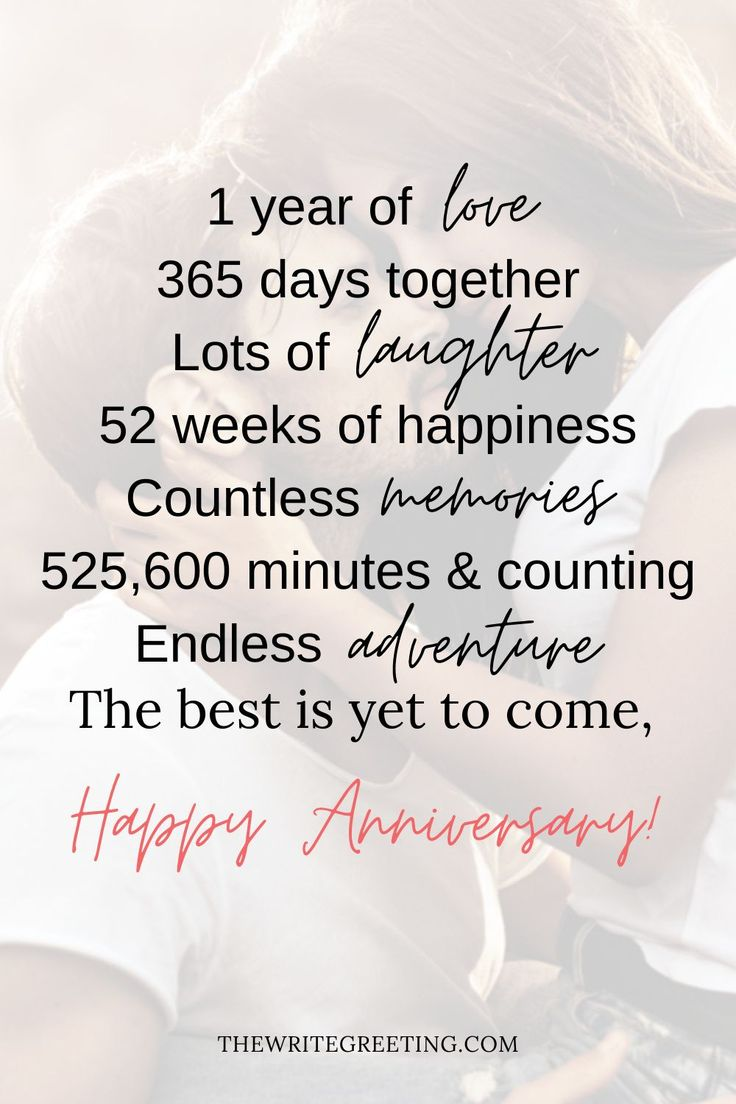 1 Year Anniversary Long Messages For Girlfriend | Message