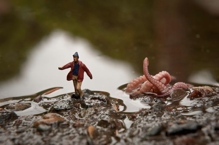 Photo Adventures in a Miniature WorldPhotographers, Photos, Artists, Kurt Moses, Minis, Monsters, Miniatures Photography, Small World, Tiny People