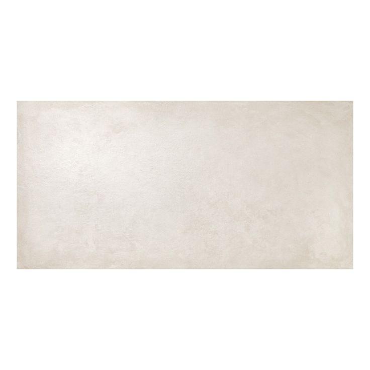 Klinker Off White Blank Concrete 75x150 1,13m²/krt Italienskt granitkeramik tillverkad i Skandinavisk design för både golv och vägg, inom- och utomhus. Se