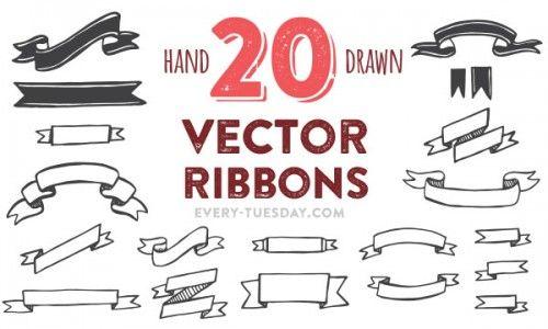 20-vector-ribbons