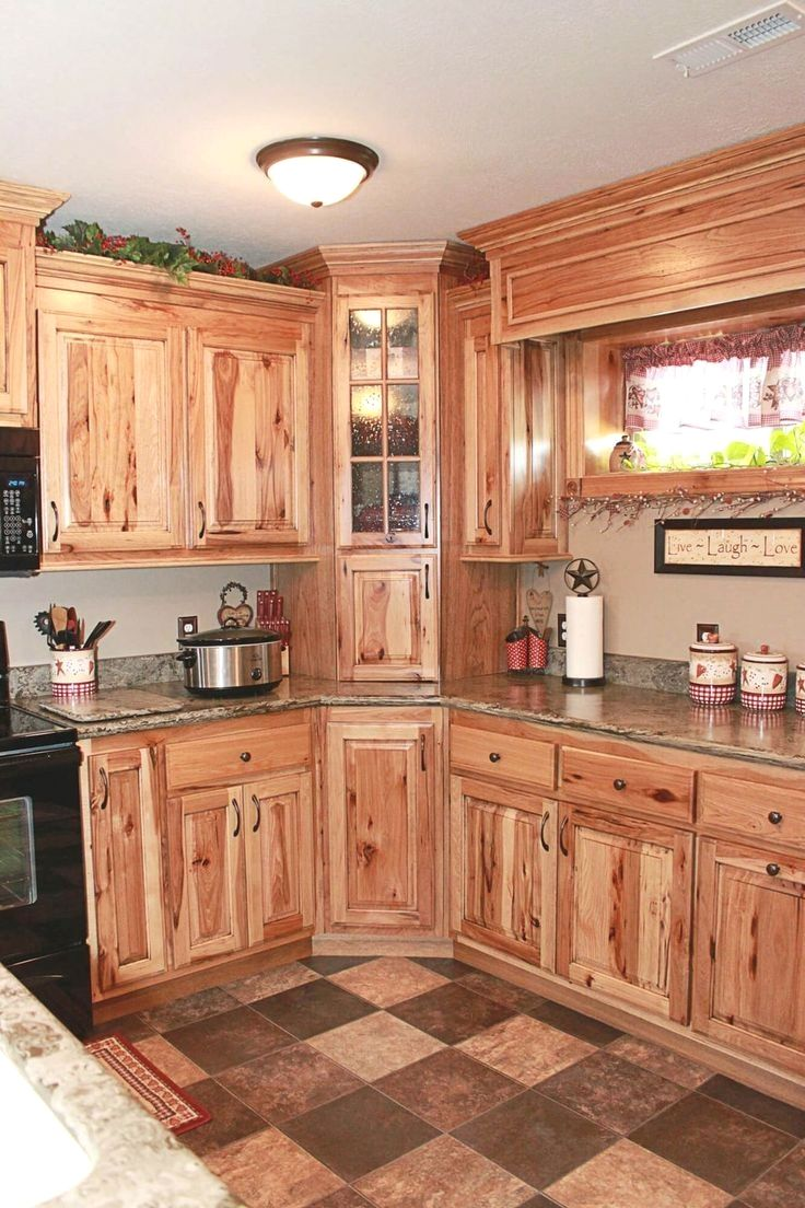 Kitchen Cabinet Remodel Ideas Check The Pin For Various Kitchen Cabinet Idea Hickory Kitchen Cabinets Kitchen Cabinet Styles Farmhouse Style Kitchen Cabinets