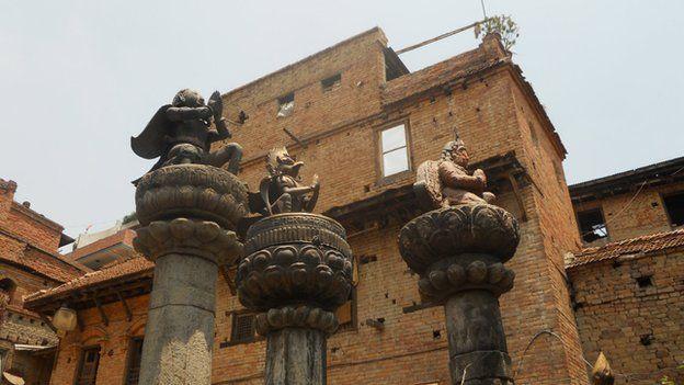 Statues in Bhaktapur - 2010 photo