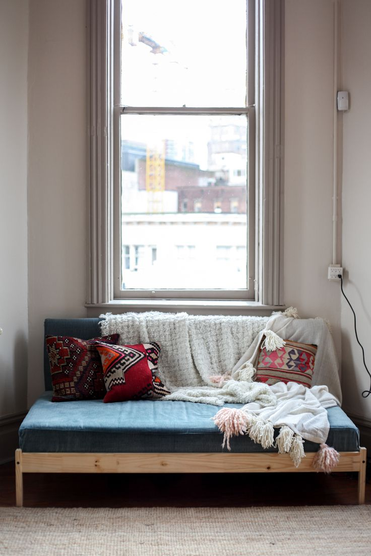 IKEA Hack: Turning a FJELLSE Bedframe into a Couch