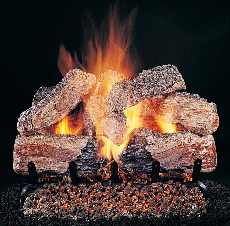 best 25 fireplace logs ideas on