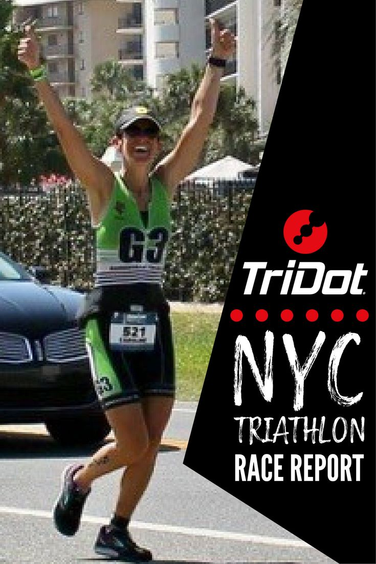 Read this detailed race report from TriDot athlete, Caroline Worrall, who placed 6th in her age group at this year's NYC Triathlon: click for more #swimbikerun #triathlontraining #NYCtriathlon #triathlon