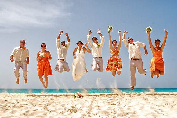 Group Photography Ideas: 20 Creative Wedding Poses for Bridal Party                                                                                                                                                                                 More
