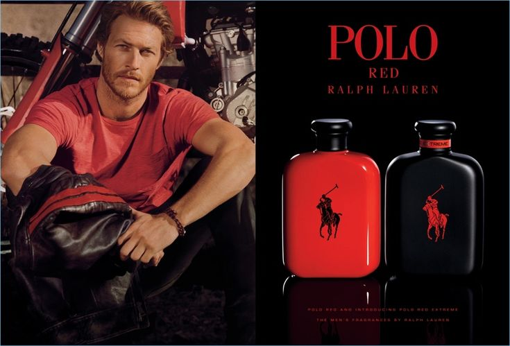 Luke Bracey stars in Ralph Lauren's Polo Red fragrance campaign.
