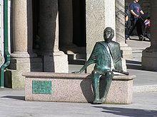 Monumento a Antonio Palacios -  en PORRIÑO