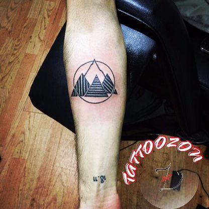tattoo mountain circle – Пошук Google