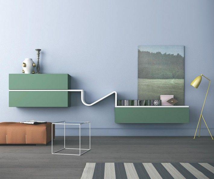 Wandregal design wave  103 besten >> TV Wohnwände << Bilder auf Pinterest | Einrichtung ...