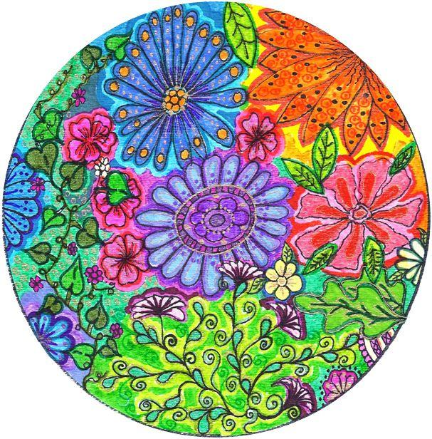 mandala flores